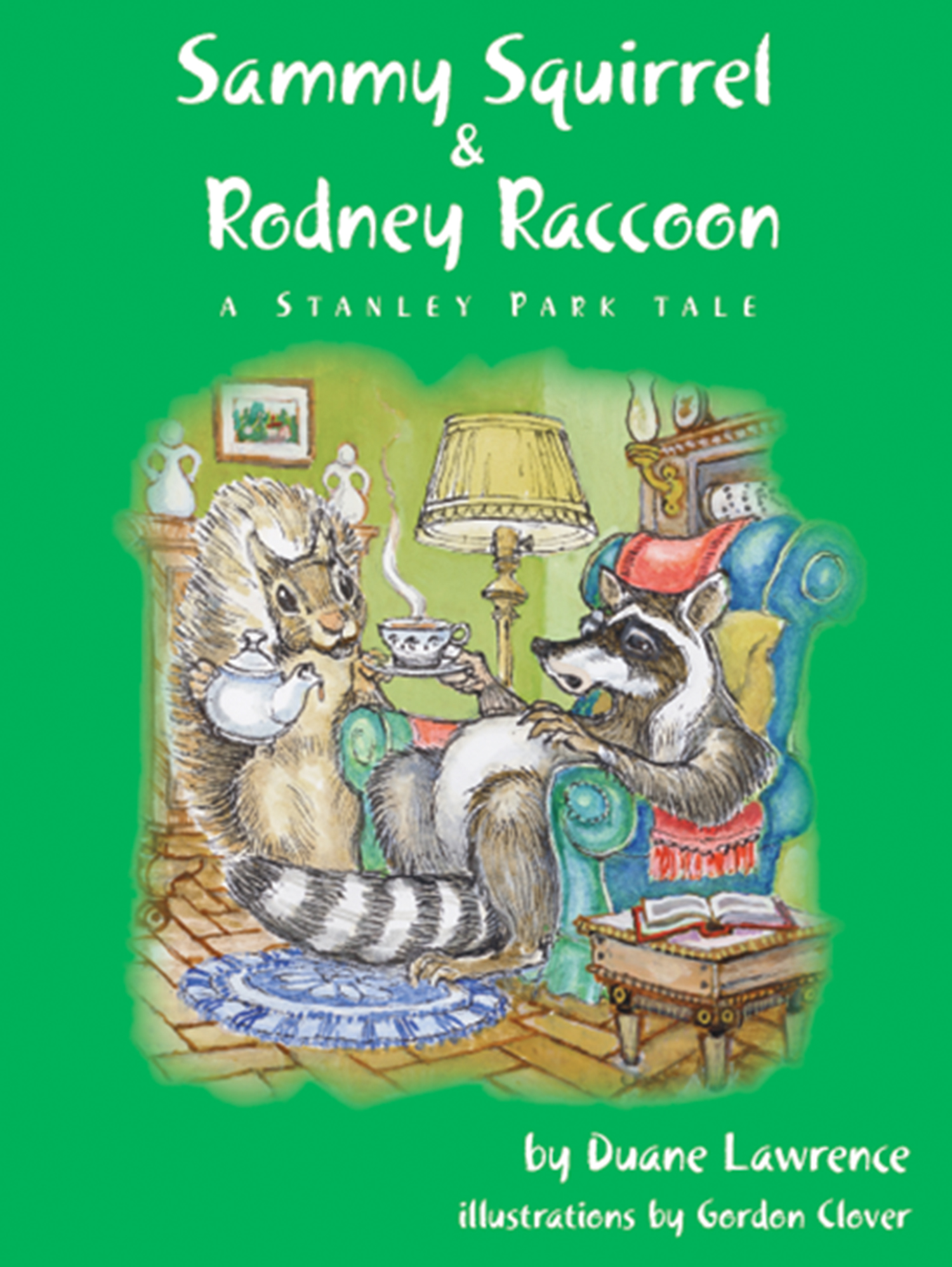 Rodney Raccoon and Sammy Squirrel Book Cover